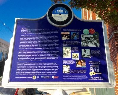 Ike Turner Marker (Rear) image. Click for full size.