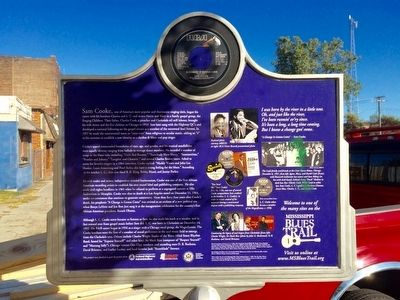 Sam Cooke Marker (Rear) image. Click for full size.