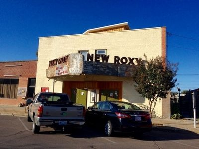 New Roxy Theater (under renovation as of Oct, 2015) image. Click for full size.