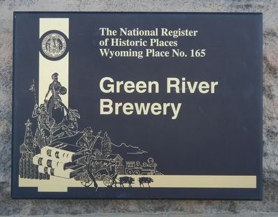 Green River Brewery Marker image. Click for full size.