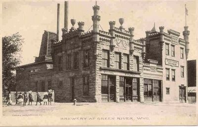 Brewery at Green River, Wyo. image. Click for full size.