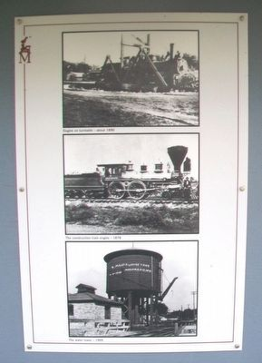 The Turntable, The Engine House, The Water Tower Marker Photos image. Click for full size.