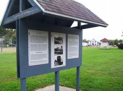 The Turntable, The Engine House, The Water Tower Marker Kiosk image. Click for full size.