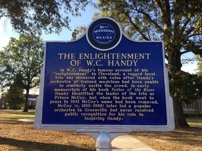The Enlightenment of W. C. Handy Marker (Front) image. Click for full size.