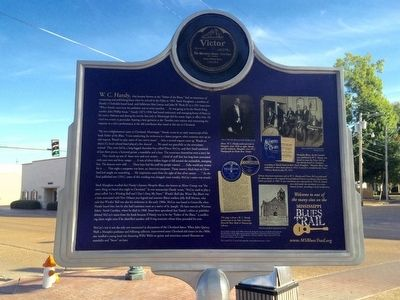 The Enlightenment of W. C. Handy Marker (Rear) image. Click for full size.