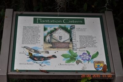 Plantation Cistern Marker image. Click for full size.