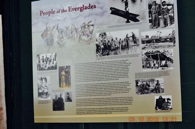 People of the Everglades image. Click for full size.