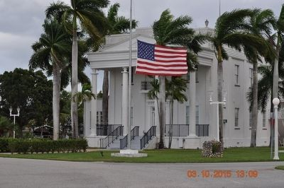Old Collier County Courthouse /Everglades City Hall image. Click for full size.