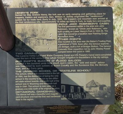 Linwood Bay Marker, right panel image. Click for full size.