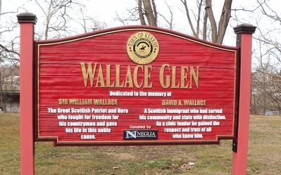 Wallace Glen Marker image. Click for full size.
