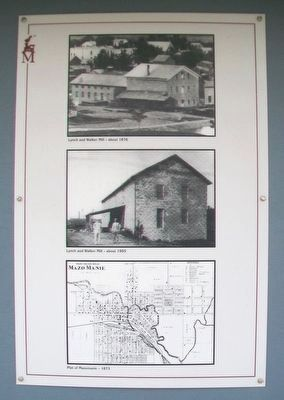 Lynch and Walker Flouring Mill Marker Photos image. Click for full size.
