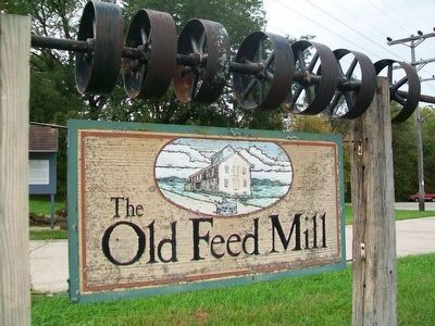 The Old Feed Mill Sign image. Click for full size.