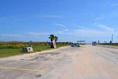 View to the Southwest towards Surfside Beach and the Gulf of Mexico image. Click for full size.