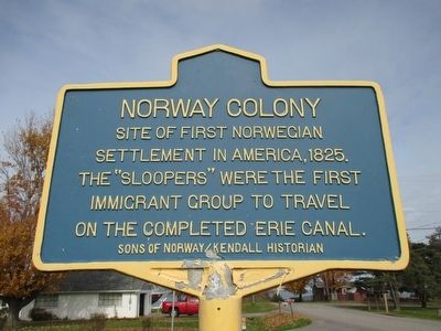 Norway Colony Marker image. Click for full size.