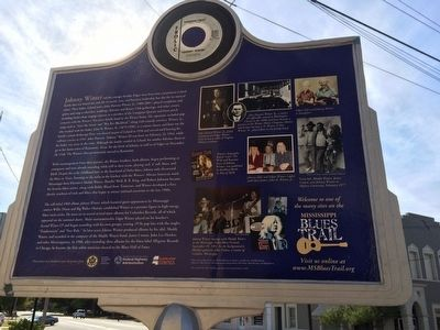 Johnny Winter Marker (Rear) image. Click for full size.