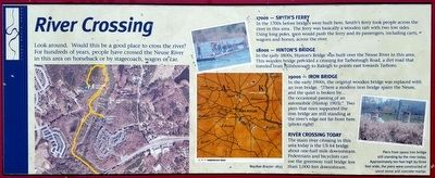 River Crossing Marker image. Click for full size.