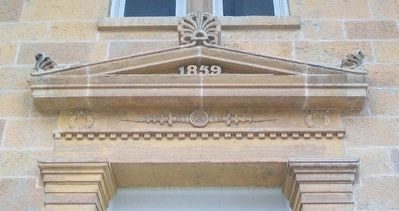 Iowa County Courthouse Tympanum image. Click for full size.