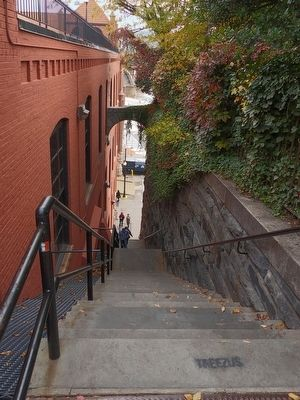 The Exorcist Steps image. Click for full size.