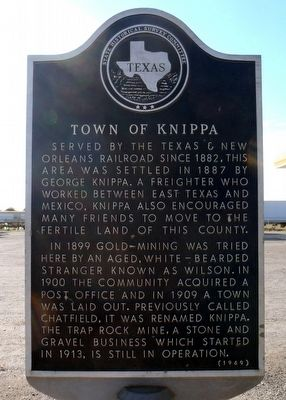 Town of Knippa Marker image. Click for full size.
