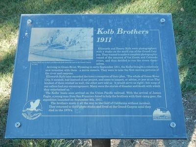 Kolb Brothers Marker image. Click for full size.