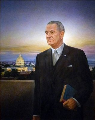 Lyndon B. Johnson image. Click for full size.