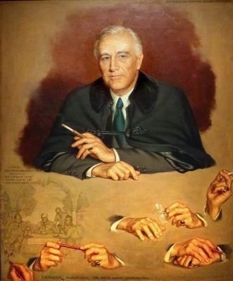 Franklin Delano Roosevelt image. Click for full size.