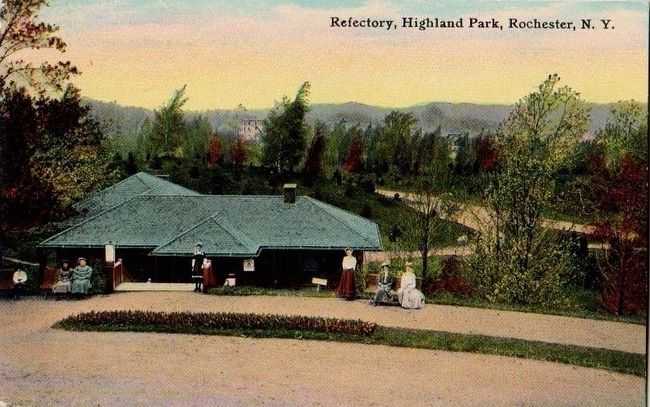 <i>Refectory, Highland Park, Rochester, N.Y.</i> image. Click for full size.