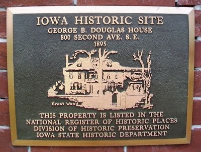 George B. Douglas House NRHP Marker image. Click for full size.