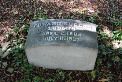 Edward Eugene Loomis Tombstone<br>April 2, 1864<br>July 11, 1937 image. Click for full size.