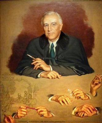 Franklin D. Roosevelt image. Click for full size.