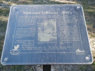 Nathaniel Galloway - 1890's Marker image. Click for full size.