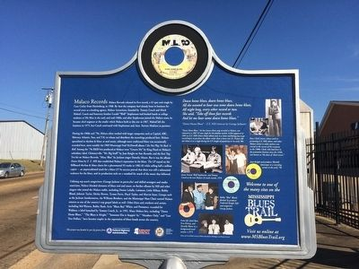 Malaco Records Marker (Rear) image. Click for full size.