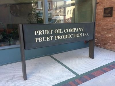 Current owner of building - Pruet Oil Company and Pruet Production Company image. Click for full size.