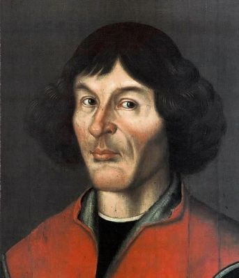 Nicolaus Copernicus (February 19, 1473–24 May 24, 1543) image. Click for full size.