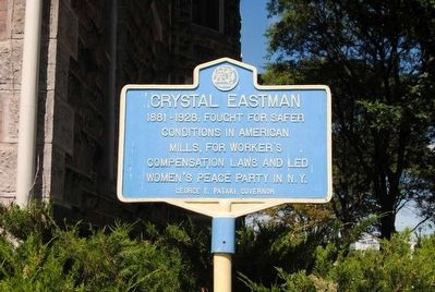 Crystal Eastman Marker image. Click for full size.