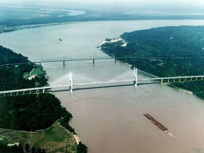 The new Greenville Mississippi Bridge image. Click for full size.