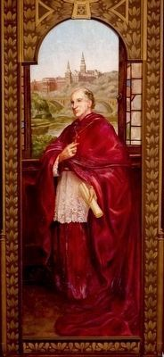Archbishop John Carroll image. Click for full size.