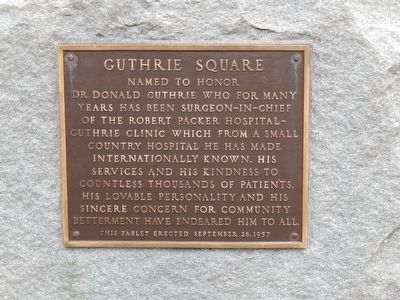 Guthrie Square Marker image. Click for full size.