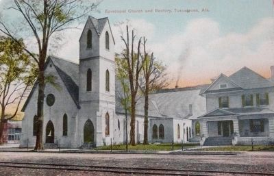 <i>Episcopal Church and Rectory, Tuscaloosa, Ala.</i> image. Click for full size.