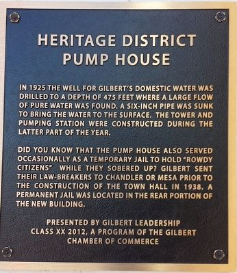 Pump House Marker image. Click for full size.