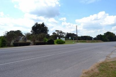 Markers near Intersection of<br>State Highway 36 and Gulf Prairie Road image. Click for full size.