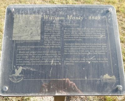 William Manly - 1849 Marker image. Click for full size.