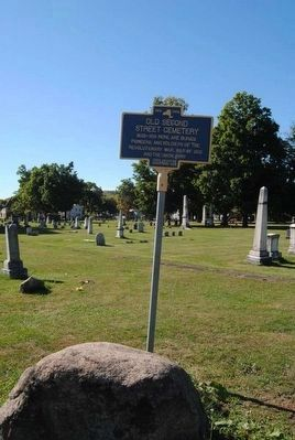 Old Second Street Cemetery Marker image. Click for full size.