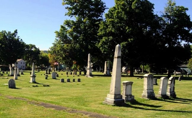 Old Second Street Cemetery image. Click for full size.