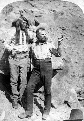 John Wesley Powell, right image. Click for full size.