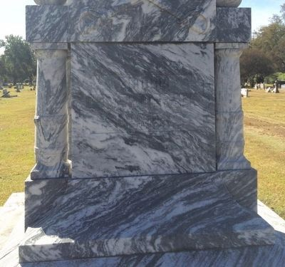 Lake Providence Confederate Monument (Front) image. Click for full size.