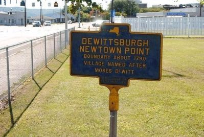Dewittsburgh Marker image. Click for full size.