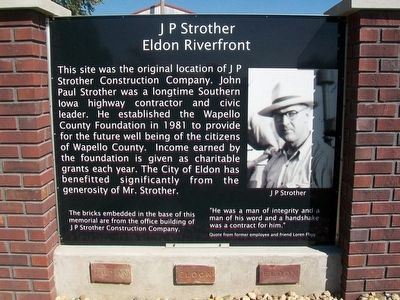 J P Strother Marker image. Click for full size.
