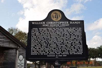 William Christopher Handy Marker image. Click for full size.