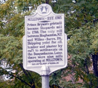 Milltown Marker image. Click for full size.